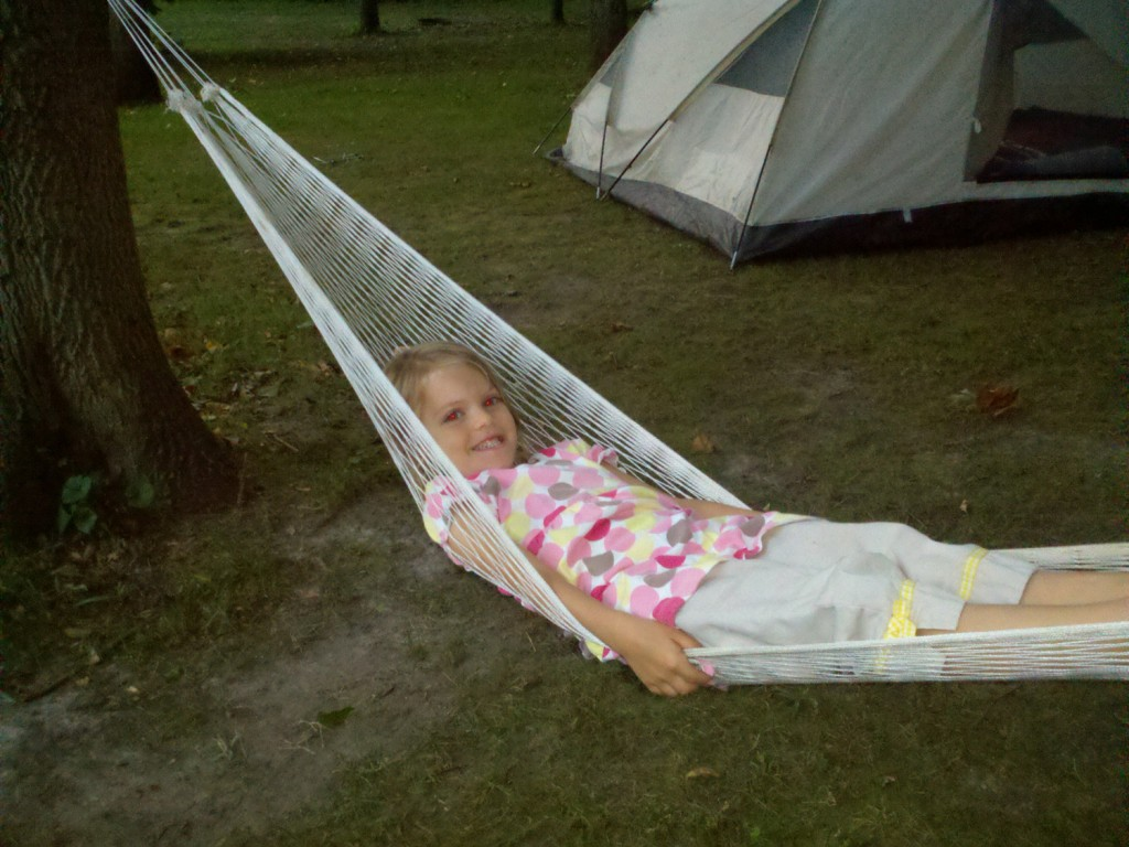 Sprout in the hammock