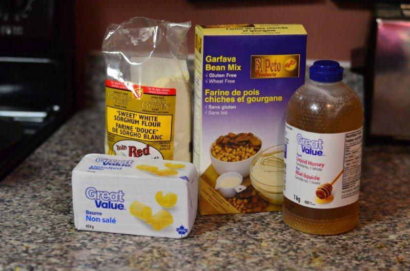 Ingredients Gluten-Free Orange Shortbread
