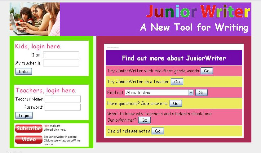 Junior Writer