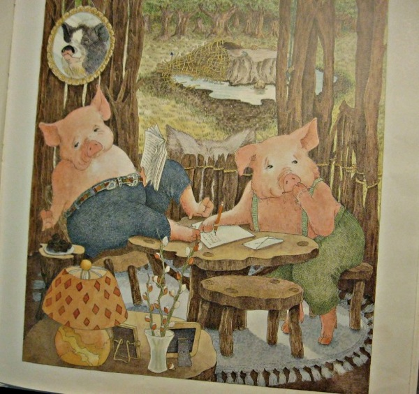 Friendly Letter Three Little Pigs