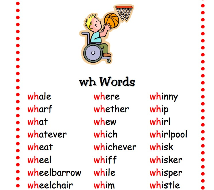 wh- words