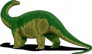 A typical Sauropod