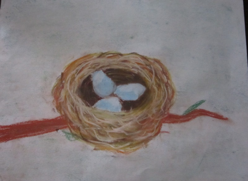 Bird's Nest by Carey Jane Clark, age ???