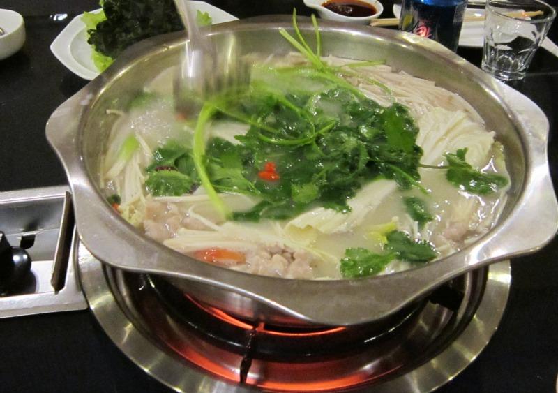 hot pot Chinese restaurant China