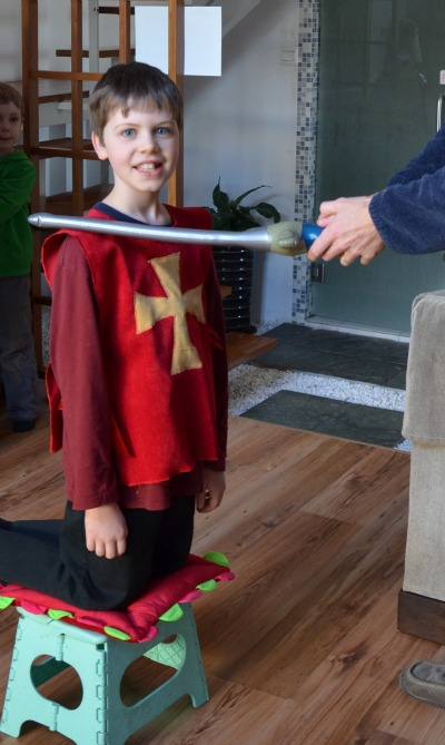 knighting ceremony