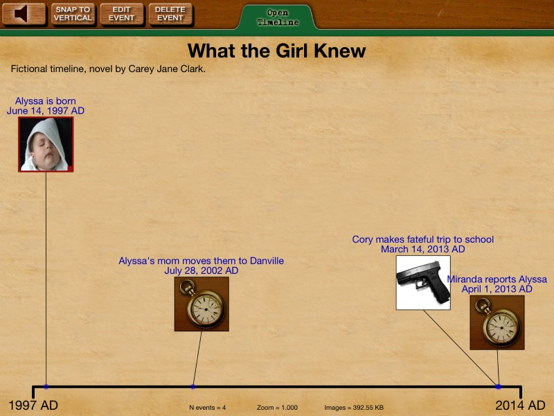 what-the-girl-knew novel by carey jane clark