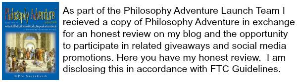 Philosophy Adventure disclaimer
