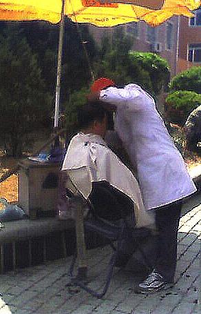 haircut China