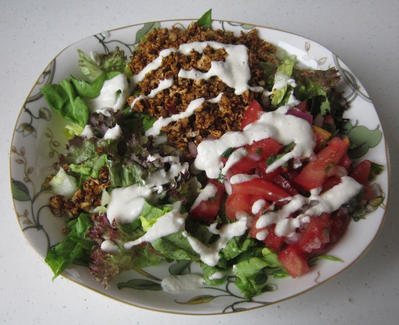 Raw Taco Salad