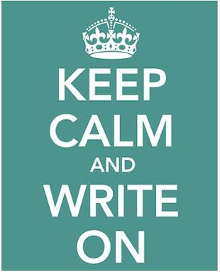 keep-calm-write-on