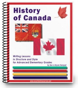 History of Canada curriculum