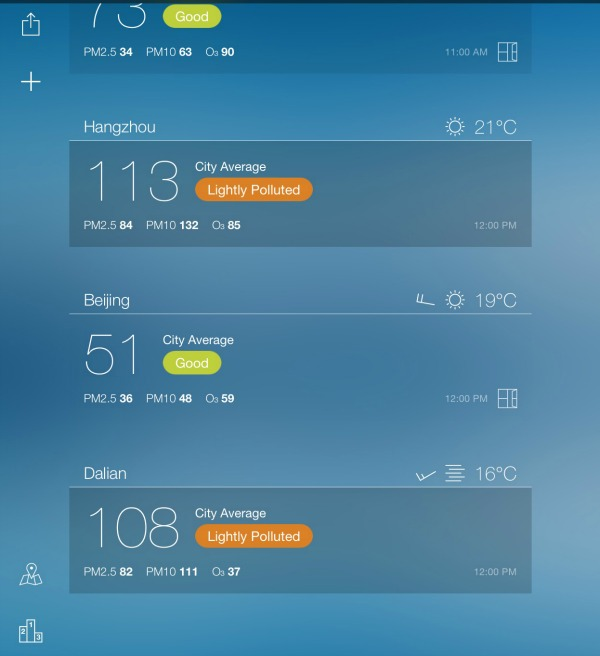 Air Quality App China